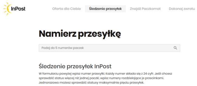 Monitorgin InPost